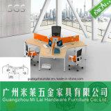 Qualitäts-Querkonstruktionsbüro-hölzerner Möbel-Schreibtisch in drei Seater