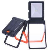 Lámpara de vector recargable solar portable de lectura del LED