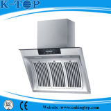 2017 Hot Sales Side Sucção Tempered Glass Panel Range Hood