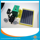 avec le panneau solaire et système des éclairages LED 20W le petit Soalr