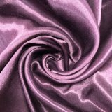 tela de algodão brilhante do poliéster 75D*32s para o vestuário de Upholstery da mobília