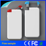 Batería de la tarjeta de crédito modificada para requisitos particulares portable de la potencia 4000mAh