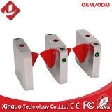 Barreiras de aleta do sistema de controle de acesso, porta de barreira de função RFID e impressão digital