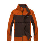 Homem de alta qualidade Classic Outdoor Sport Double Layer Fleece Alinhado Camping Hiking Wear Pizex Coat Jacket