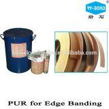 工場直売PVC端バンディングの反応ポリウレタンPurの熱い溶解の接着剤の接着剤
