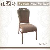 Bequeme stapelnde Aluminiumhotel-Gaststätte, die Stuhl (JY-L24-1, speist)