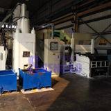 Машина брикетирования алюминиевой пыли с подпрессует цилиндр