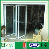 Building Material Aluminum Profile Bi - Fold Doors As2047