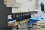 Freio simples da imprensa do CNC da série de Wc67y para a dobra da placa de metal