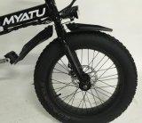 20inch bicicleta de dobramento da neve E com a bicicleta da gordura do Pneu-Myatu de 4.0 gorduras
