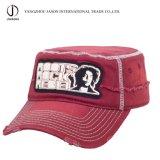 Casquillo promocional del casquillo de Fidel del casquillo del algodón de la manera de la gorra de béisbol militar del casquillo