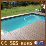 Decking ao ar livre composto projetado de WPC para a piscina