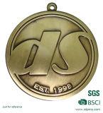 Médaille courante faite sur commande de sport d'or de couvre-tapis 3D avec des lanières