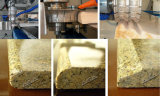 Automatischer Rand-Steinpoliermaschine für reibende Granit-/MarmorCountertops