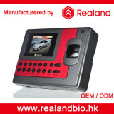 Système biométrique de service de temps de lecteur de RFID de Realand