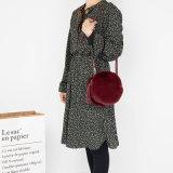 PUの革製バッグ、女性Crossbody袋、粋な女性のプラシ天のハンド・バッグHcy-A110