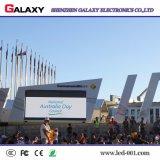 Étalage de mur visuel extérieur de la qualité RVB P3.91/P4.81 DEL pour l'événement, location