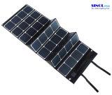 120W Sunpower que dobra o carregador de bateria solar 48V para a bateria elétrica da bicicleta
