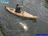 3.44mtr Imitation de plate-forme de grain de bois Singing Touring Kayak