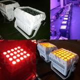 la PARITÀ impermeabile di 20X12W RGBW 4in1 può indicatore luminoso del LED per la fase