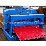 PLC Control Color Steel Glazed Tile Roll Rolling Machine