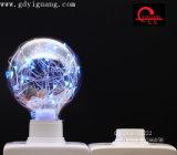 Ampoule colorée spéciale du matériau G125 G95 G80 de DEL d'étoile de câblage cuivre blanc d'ampoules