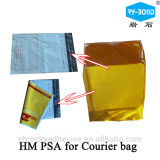 DHL Plastic Courier Packaging Bag Adhesive
