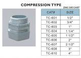 Il tipo zinco di compressione dei connettori di EMT muore il getto