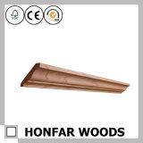 Coroa da madeira de carvalho do material de construção que molda para a decoração Home