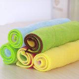 주문을 받아서 만들어진 색깔 Microfiber 깨끗한 수건
