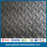 Plaque Checkered en acier de 5mm de norme laminée à chaud de l'épaisseur 304