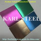La couleur d'acier inoxydable a repéré la feuille Ket010 pour des matériaux de décoration