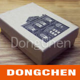 Caixa de embalagem de papel à mão de alta qualidade