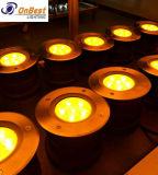 Напольный подземный светлый свет CREE 6W СИД в IP67