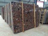 Mattonelle di pavimentazione di pietra di marmo variopinte ampiamente usate di Riverstones di vendita calda