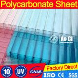 Hoja hueco del policarbonato para el invernadero