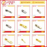 Sacos/extratores e trações do Zipper dos acessórios de forma metal dos vestuários/sapatas