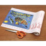 Aprendizaje de la cubierta de libro plástica auta-adhesivo del PVC