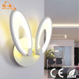 Lámpara de pared decorativa de la luz LED de la noche del diseño único