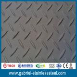 Fabrication bon marché de feuilles d'acier inoxydable de plaque de diamant de la mesure 440c des prix 20