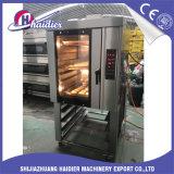 Horno eléctrico de la convección del gas del aire caliente del horno de la hornada del pan del restaurante
