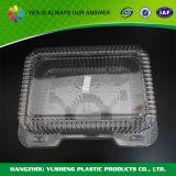 Коробка пластичного торта хлебопекарни любимчика упаковывая