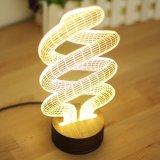Lumières de nuit de gosses de source d'alimentation par batterie et de source d'éclairage LED