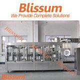 Monobloc Machine van de Capsuleermachine van de Vuller van het Sap van de Vuller van de Pulp Rinser