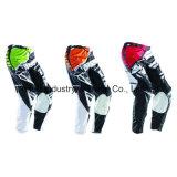 Motocross su ordinazione verde dell'attrezzo del MX di alta qualità che corre i pantaloni (MAP01)