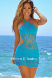 Reizvolle Frauen-Handhäkelarbeitbeachwear-Badebekleidungs-Badeanzug-Bikini-Vertuschung
