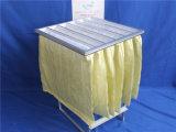 Сборник пыли карманного воздушного фильтра F8 промышленный кладет эффективность в мешки 95%