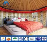 marco de aluminio de lujo Yurt mongol del diámetro de los 4-8m para la vida del hotel