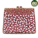 Popluar Design Lady Fashion Evening Crystalstone Bolsa de embreagem Rhinestone Leb754