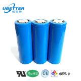 3.7V célula de batería al por mayor de litio de la alta calidad 18650 2600mAh